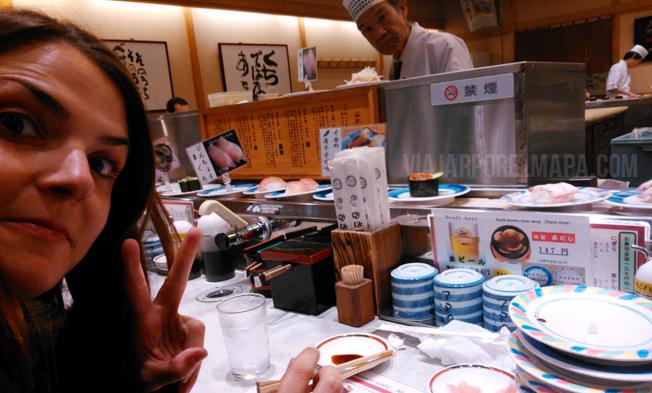 Kaiten Sushi en Kioto - Japón por libre