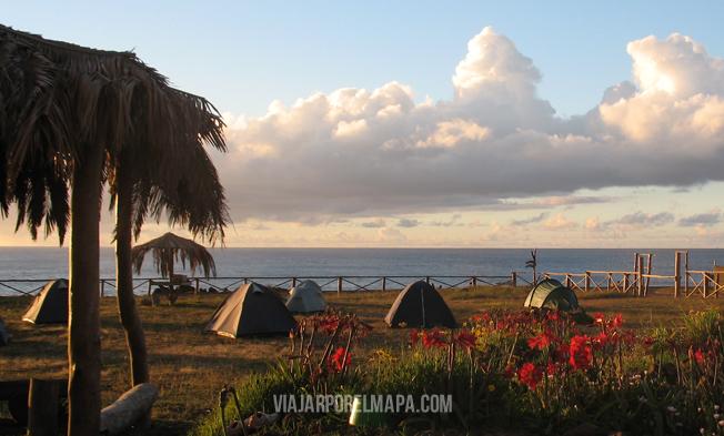 Camping Mihinoa Isla de Pascua