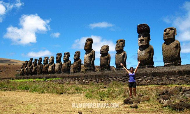 Isla de Pascua - Tongariki viajarporelmapa