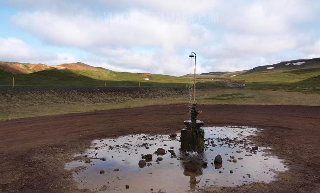 Ducha Islandia - viajarporelmapa