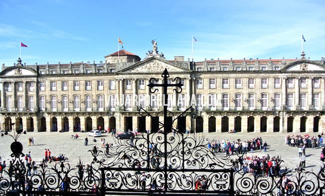 Obradoiro Santiago Compostela en un día