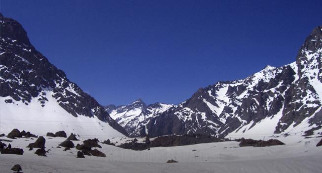 Andes - de Argentina a Chile