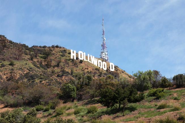 hollywood sign costa oeste de eeuu