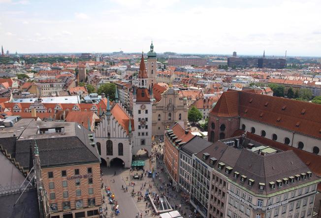 escapada Munich Altes Rathaus
