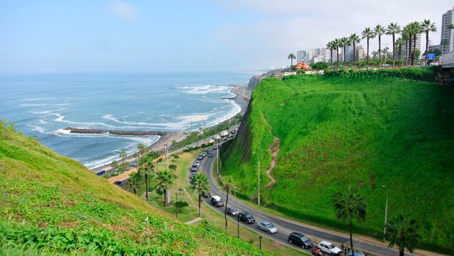 Perú en 15 días - Malecón Lima