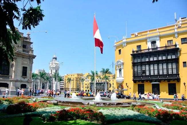 Peerú en 15 días - Plaza Armas Lima
