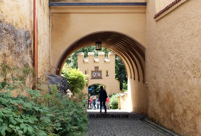 Hohenschwangau - castillo rey loco