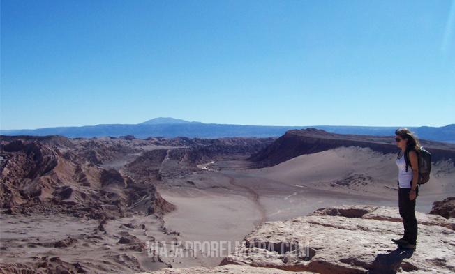 desierto de Atacama. Cordillera de la Sal