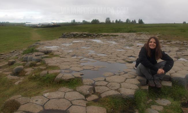 Suelo de la iglesia - Islandia - viajarporelmapa