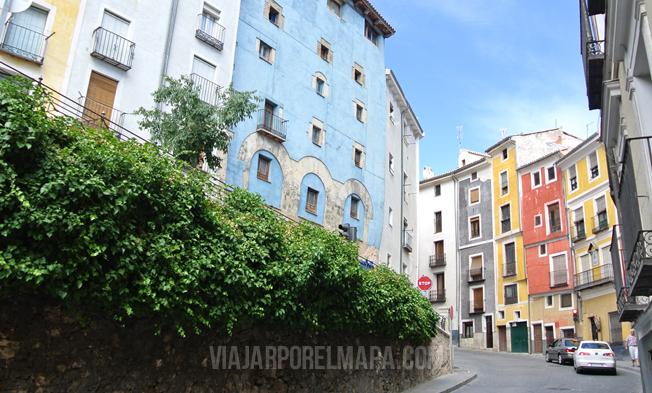 Casas colores Cuenca Viajarporelmapa