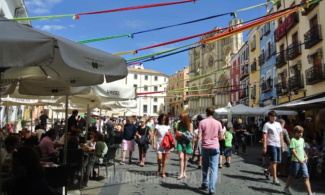 Plaza Mayor Cuenca Viajar por el mapa