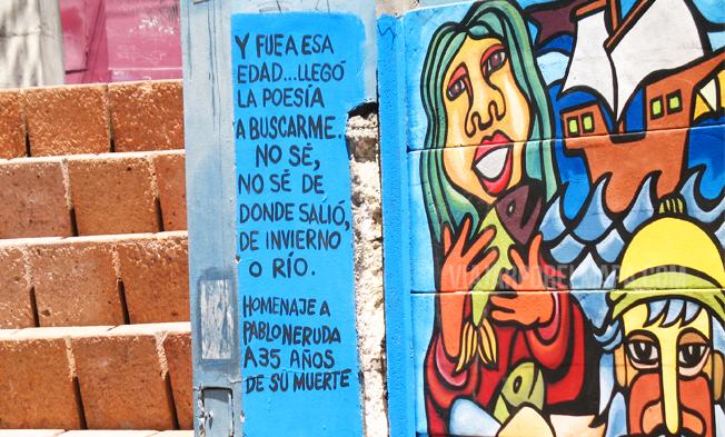 Huellas de Neruda en Chile - La Chascona