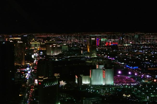 Las Vegas costa oeste de eeuu
