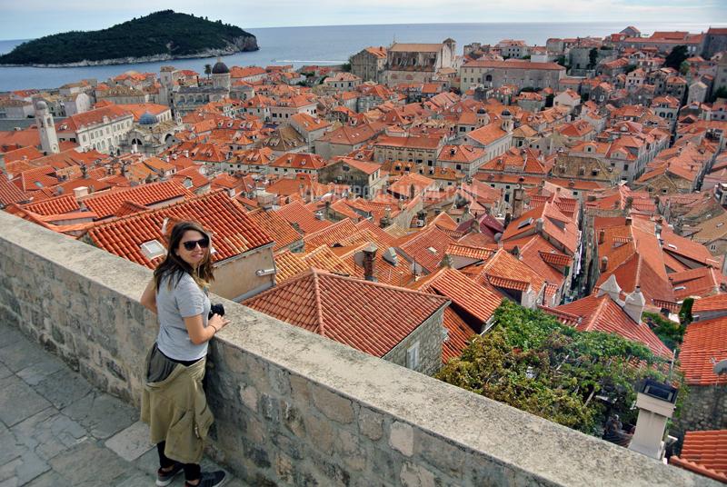 viaje a Croacia 10 días murallas Dubrovnik