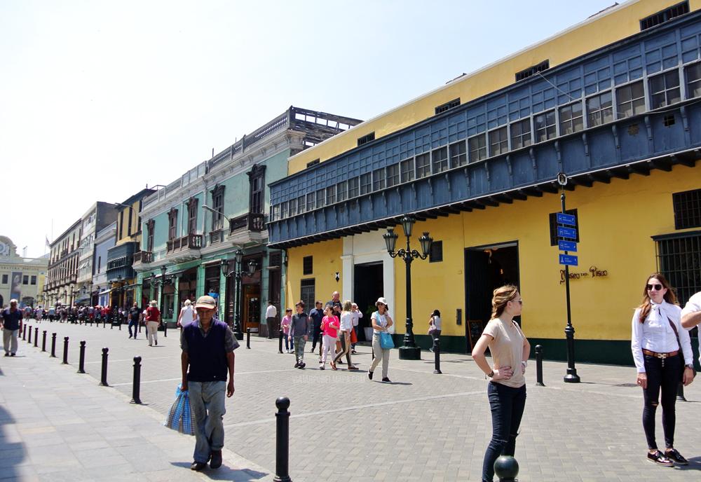 Ruta por el centro de Lima Perú - museo Pisco