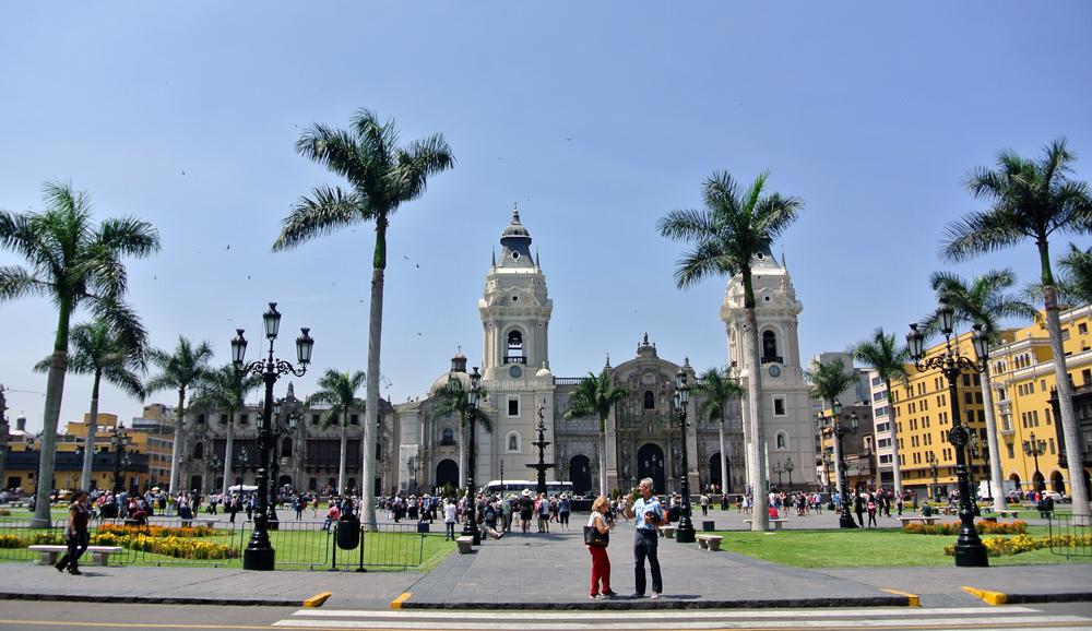 Ruta por el centro de Lima - plaza de armas