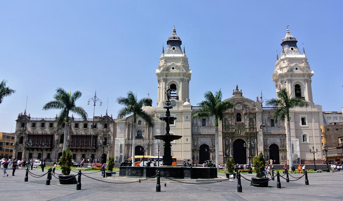 Ruta por el centro de Lima Perú