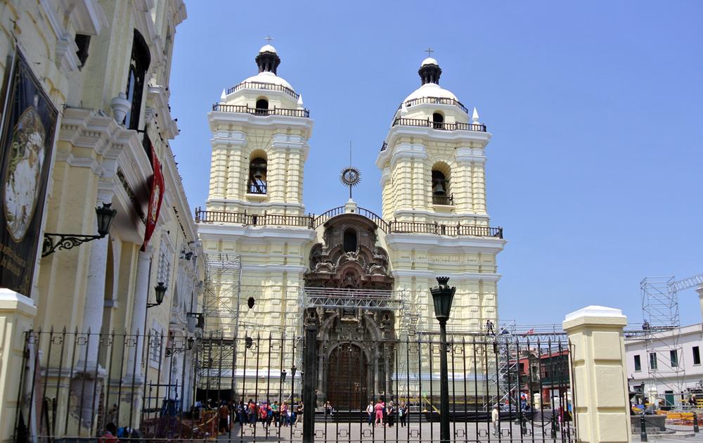Ruta por el centro de Lima Monasterio San Francisco