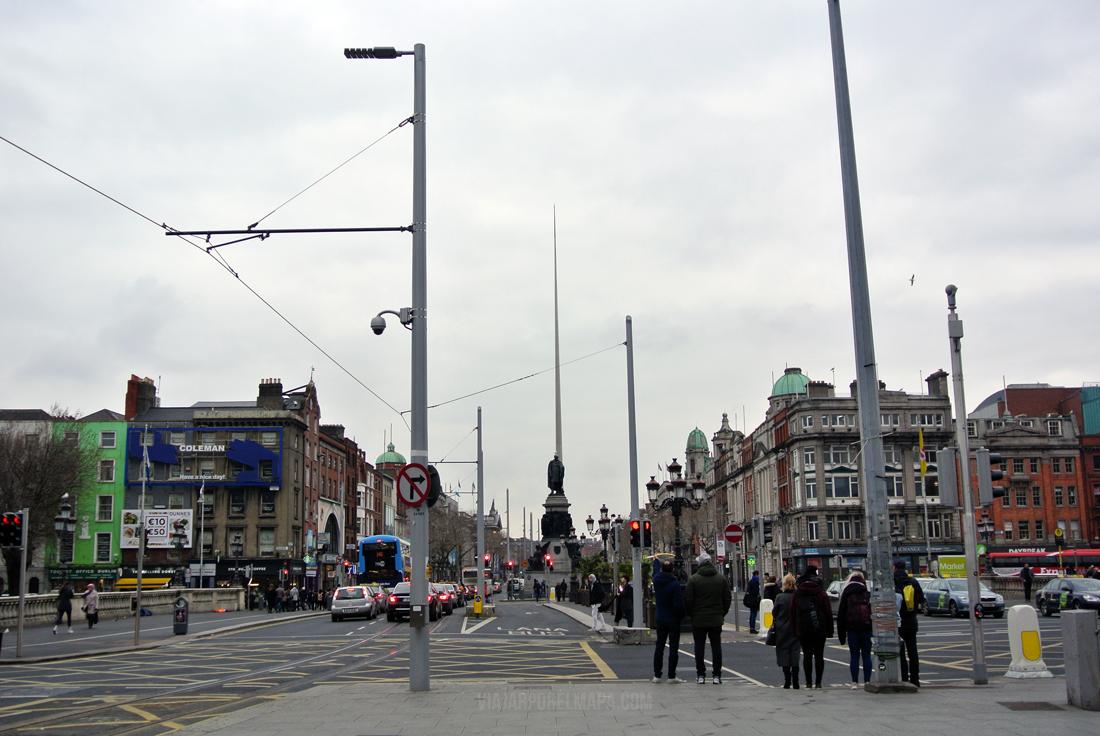 5 días en Dublín - O'Connell street