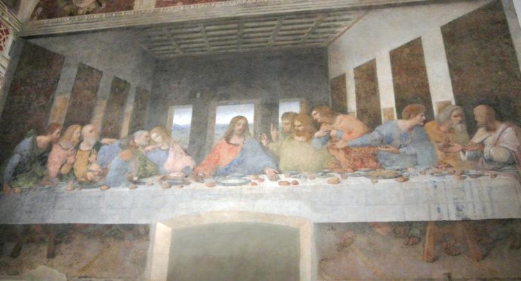 visitamos el Cenacolo Vinciano