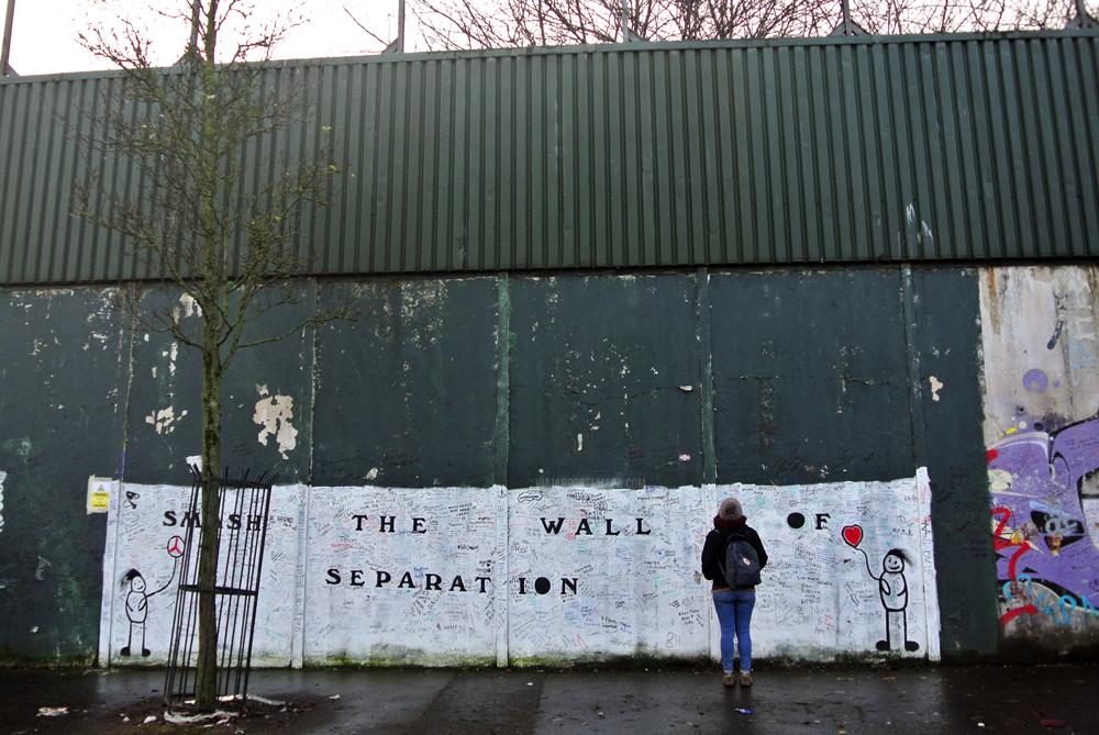 muro de la Paz - Belfast en 3 días