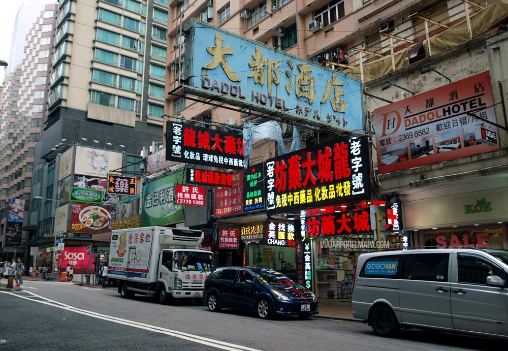 Calles de Kowloon - 3 días en Hong Kong