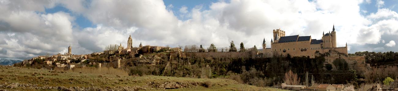 Segovia en un día - panorámica