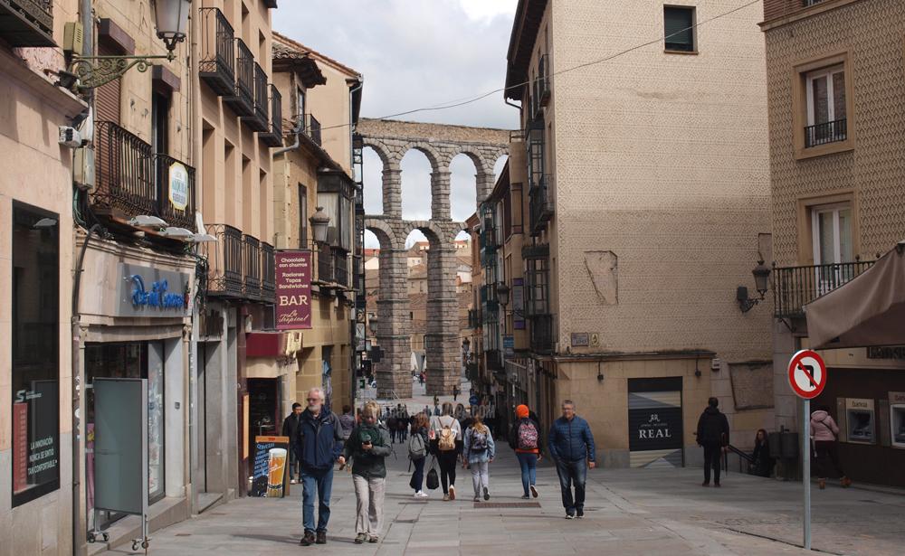 Segovia en un día - Acueducto