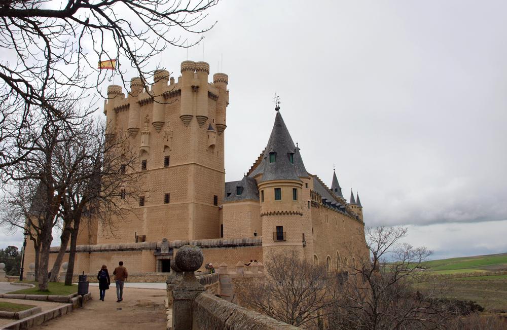 Segovia en un día - Alcazar