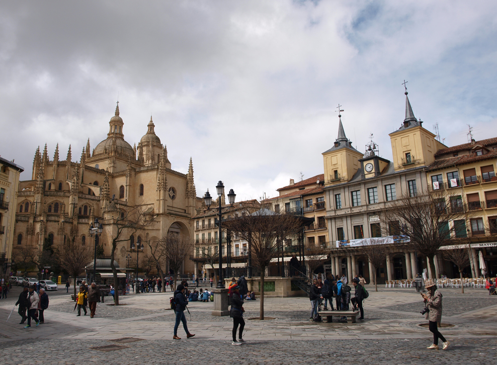 Segovia en un día - Catedral