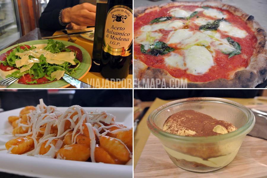 Favoritos de nuestra ruta por Italia - comida