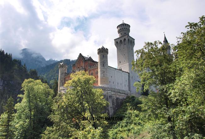 Neuschwanstein - castillo rey loco