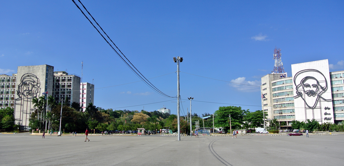 Cuba por libre 15 días Plaza Revolución